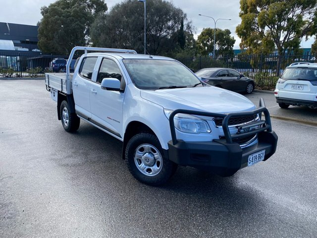 Used Holden Colorado RG MY15 LS Crew Cab Mile End, 2015 Holden Colorado RG MY15 LS Crew Cab White 6 Speed Sports Automatic Cab Chassis