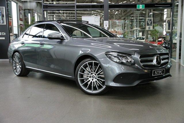 Used Mercedes-Benz E-Class W213 800+050MY E450 9G-Tronic PLUS 4MATIC North Melbourne, 2019 Mercedes-Benz E-Class W213 800+050MY E450 9G-Tronic PLUS 4MATIC Grey 9 Speed Sports Automatic