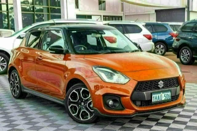 Used Suzuki Swift AZ Sport Attadale, 2019 Suzuki Swift AZ Sport Orange 6 Speed Manual Hatchback