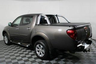 2013 Mitsubishi Triton MN MY14 GLX-R Double Cab Ironbark 5 Speed Manual Utility