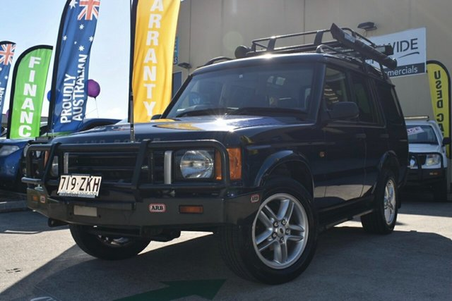 Used Land Rover Discovery TD5 (4x4) Capalaba, 2001 Land Rover Discovery TD5 (4x4) Blue 4 Speed Automatic 4x4 Wagon