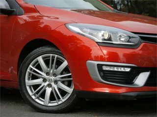 2016 Renault Megane III B95 Phase 2 GT-Line EDC Red 6 Speed Sports Automatic Dual Clutch Hatchback