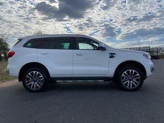 2021 Ford Everest UA II 2021.25MY Titanium White 10 Speed Sports Automatic SUV.