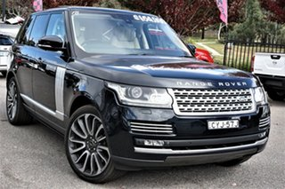 2015 Land Rover Range Rover L405 15.5MY Autobiography Blue 8 Speed Sports Automatic Wagon.