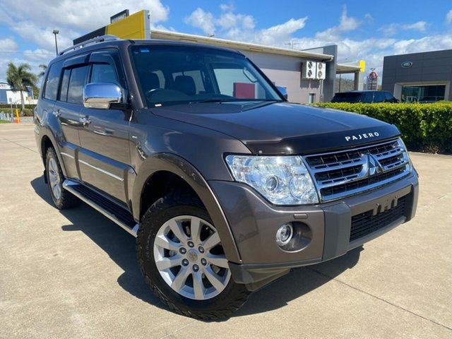 Used Mitsubishi Pajero NT MY09 Exceed Townsville, 2009 Mitsubishi Pajero NT MY09 Exceed Brown/131009 5 Speed Sports Automatic Wagon