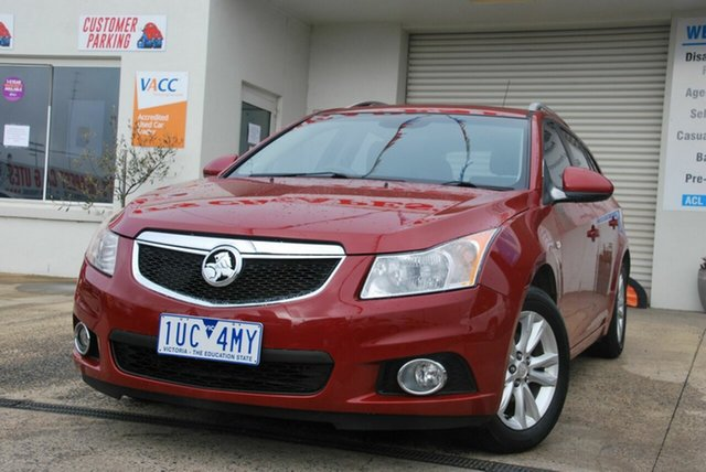 Used Holden Cruze JH MY13 CD Wendouree, 2013 Holden Cruze JH MY13 CD Red 6 Speed Automatic Sportswagon