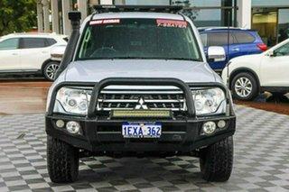 2015 Mitsubishi Pajero NX MY16 GLX Silver 5 Speed Sports Automatic Wagon