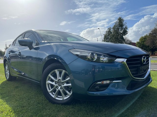 Used Mazda 3 BN5478 Maxx SKYACTIV-Drive Sport Hindmarsh, 2018 Mazda 3 BN5478 Maxx SKYACTIV-Drive Sport Blue 6 Speed Sports Automatic Hatchback