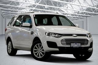 2016 Ford Territory SZ MK2 TX (RWD) Winter White 6 Speed Automatic Wagon.