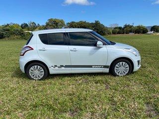 2014 Suzuki Swift FZ MY13 GL White 4 Speed Automatic Hatchback.