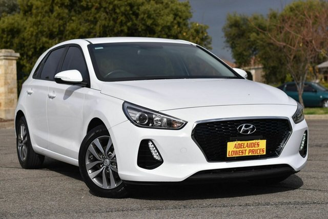 Used Hyundai i30 PD2 MY18 Active Enfield, 2018 Hyundai i30 PD2 MY18 Active White 6 Speed Sports Automatic Hatchback