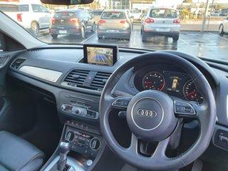 2016 Audi Q3 8U MY17 TFSI S Tronic Quattro Sport Silver 7 Speed Sports Automatic Dual Clutch Wagon