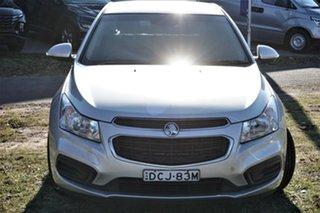 2015 Holden Cruze JH Series II MY15 Equipe Silver 5 Speed Manual Hatchback.