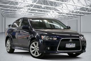 2012 Mitsubishi Lancer CJ MY12 VR-X Blue 5 Speed Manual Sedan.