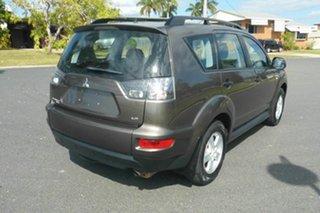 2010 Mitsubishi Outlander ZH MY10 LS Grey 6 Speed Constant Variable Wagon.
