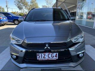 2017 Mitsubishi ASX XC MY17 LS Grey 6 Speed Sports Automatic Wagon.
