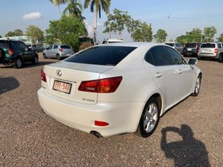2006 Lexus IS250 Luxury White 4 Speed Auto Active Select Sedan