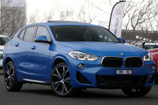 2018 BMW X2 F39 sDrive20i Coupe DCT Steptronic M Sport Blue 7 Speed Sports Automatic Dual Clutch.