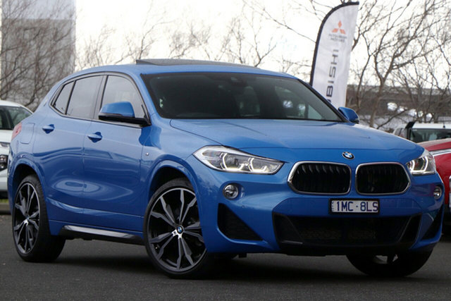 Used BMW X2 F39 sDrive20i Coupe DCT Steptronic M Sport Essendon Fields, 2018 BMW X2 F39 sDrive20i Coupe DCT Steptronic M Sport Blue 7 Speed Sports Automatic Dual Clutch