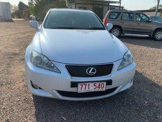 2006 Lexus IS250 Luxury White 4 Speed Auto Active Select Sedan.