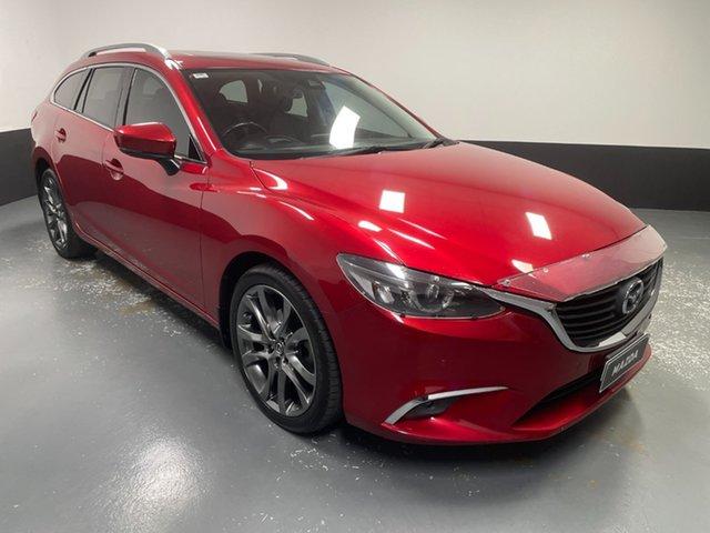 Used Mazda 6 GL1021 GT SKYACTIV-Drive Hamilton, 2017 Mazda 6 GL1021 GT SKYACTIV-Drive Red 6 Speed Sports Automatic Wagon