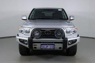 2013 Toyota Landcruiser VDJ200R MY12 VX (4x4) Silver 6 Speed Automatic Wagon.