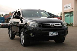 2007 Toyota RAV4 GSA33R SX6 Black 5 Speed Automatic Wagon.