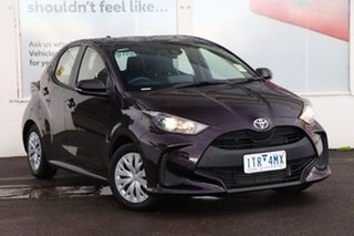 2021 Toyota Yaris Mxpa10R Ascent Sport Scarlet 1 Speed Constant Variable Hatchback.