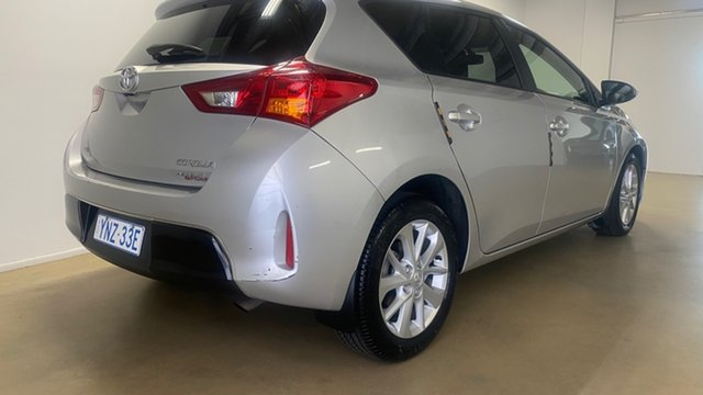 Used Toyota Corolla ZRE182R Ascent Sport Phillip, 2012 Toyota Corolla ZRE182R Ascent Sport Silver 7 Speed CVT Auto Sequential Hatchback