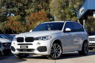2017 BMW X5 F15 xDrive30d White 8 Speed Sports Automatic Wagon