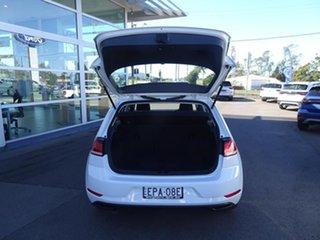 2017 Volkswagen Golf 7.5 MY17 110TSI DSG Trendline Pure White 7 Speed Automatic Hatchback