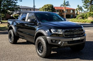 2019 Ford Ranger PX MkIII 2019.00MY Raptor Shadow Black 10 Speed Sports Automatic Double Cab Pick Up.