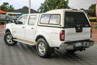 2004 Nissan Navara D22 MY2003 ST-R White 5 Speed Manual Utility.