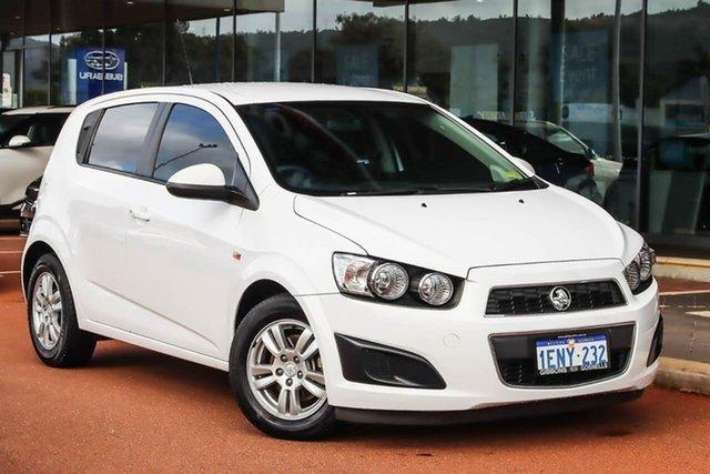 Used Holden Barina TM MY14 CD Gosnells, 2014 Holden Barina TM MY14 CD White 6 Speed Automatic Hatchback