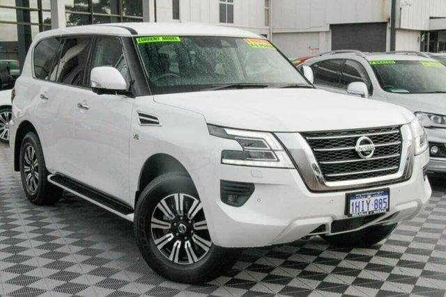 Used Nissan Patrol Y62 MY21 TI Attadale, 2021 Nissan Patrol Y62 MY21 TI White 7 Speed Sports Automatic Wagon