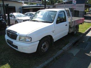 2005 Mazda B2600 Bravo DX White 5 Speed Manual Cab Chassis.