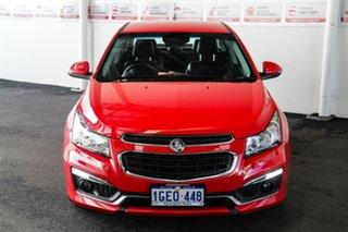 2016 Holden Cruze JH MY16 SRI Z-Series Red 6 Speed Automatic Sedan.