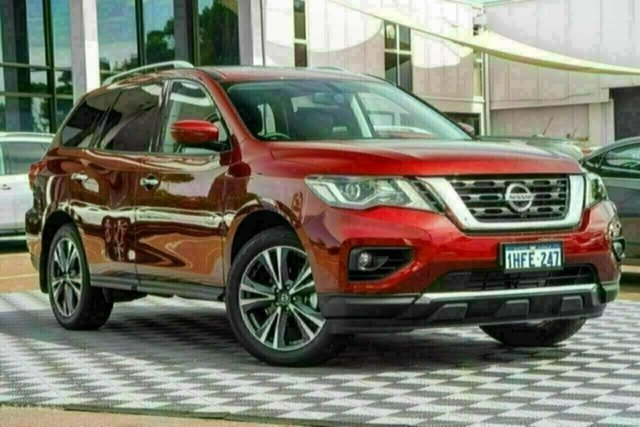 Used Nissan Pathfinder R52 Series III MY19 Ti X-tronic 2WD Attadale, 2020 Nissan Pathfinder R52 Series III MY19 Ti X-tronic 2WD Redstone 1 Speed Constant Variable Wagon