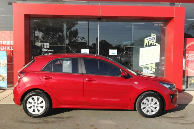 Demo Kia Rio YB MY21 S Swan Hill, 2021 Kia Rio YB MY21 S Red 6 Speed Automatic Hatchback