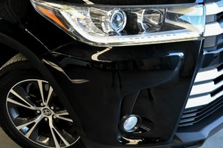2019 Toyota Kluger GSU55R GX AWD Black 8 Speed Sports Automatic Wagon.