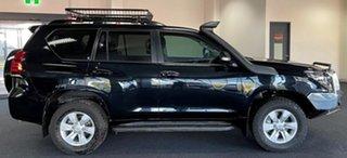 2018 Toyota Landcruiser Prado GDJ150R GXL Black 6 Speed Sports Automatic Wagon.