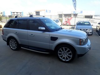 2007 Land Rover Range Rover MY08 Sport 2.7 TDV6 Silver Leaf 6 Speed Auto Sequential Wagon