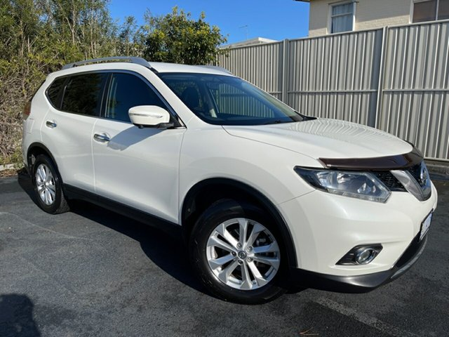 Used Nissan X-Trail T32 ST-L X-tronic 2WD Devonport, 2015 Nissan X-Trail T32 ST-L X-tronic 2WD White 7 Speed Constant Variable Wagon