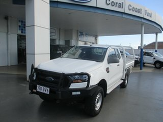 2017 Ford Ranger PX MkII MY18 XL 3.2 (4x4) White 6 Speed Automatic Super Cab Chassis.