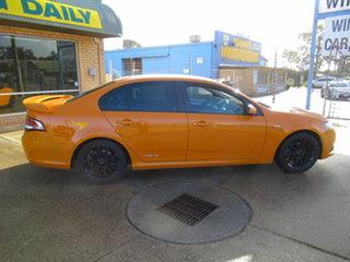 2013 Ford Falcon FG Mk II XR6 Orange 6 Speed Automatic Sedan