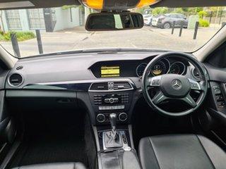 2012 Mercedes-Benz C-Class W204 MY12 C200 BlueEFFICIENCY 7G-Tronic + Silver 7 Speed Sports Automatic