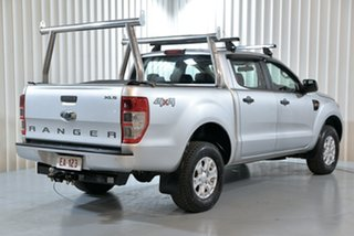 2018 Ford Ranger PX MkII MY18 XLS 3.2 (4x4) Silver 6 Speed Automatic Dual Cab Utility