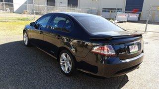 2011 Ford Falcon FG Upgrade XR6 Black 6 Speed Auto Seq Sportshift Sedan