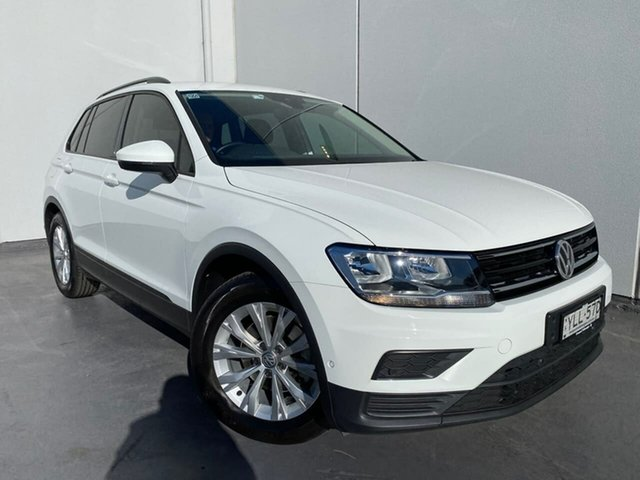 Used Volkswagen Tiguan 5N MY20 110TSI DSG 2WD Trendline Liverpool, 2019 Volkswagen Tiguan 5N MY20 110TSI DSG 2WD Trendline White 6 Speed Sports Automatic Dual Clutch