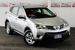 2015 Toyota RAV4 ASA44R MY14 Upgrade GX (4x4) Silver Pearl 6 Speed Automatic Wagon.